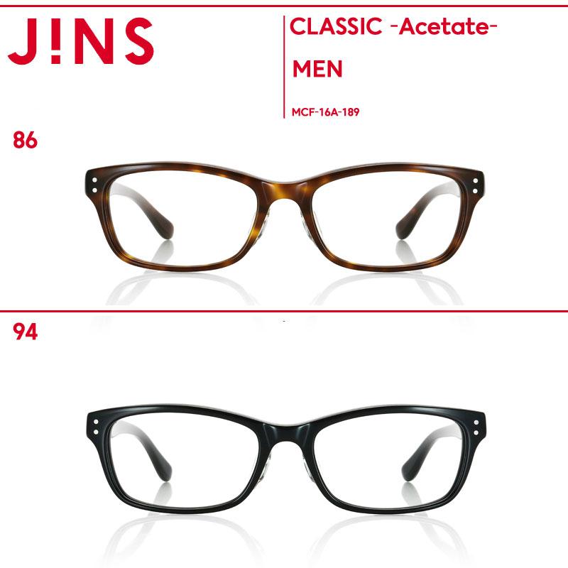 【JINS CLASSIC -Acetate-】アセテート-JINS(ジンズ)