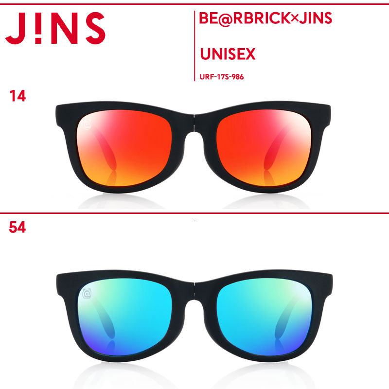 【BE@RBRICK×JINS】オンラインショップ限定 BE@RBRICKコラボレーションサングラス-JINS(ジンズ)