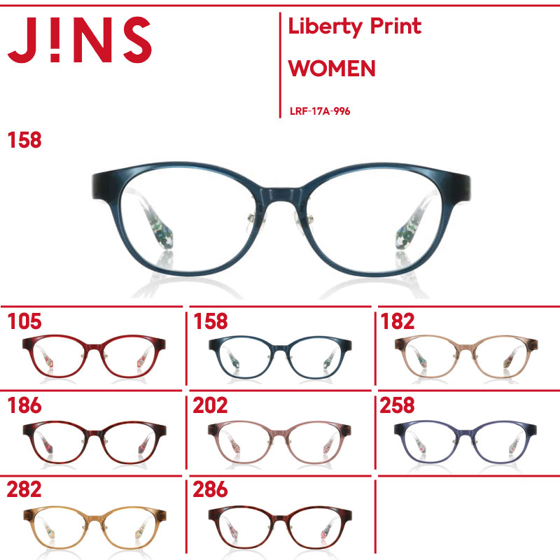 【SALE】【Liberty Print】リバティ×JINS コラボレーションフレーム-JINS(ジンズ)