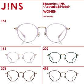 【Moomin×JINS -Acetate&Metal-】ムーミンコラボレーションフレーム アセテート&メタル -JINS(ジンズ)