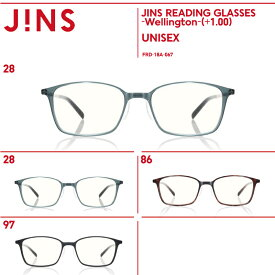 【JINS READING GLASSES -Wellington-】(+1.00)老眼鏡 リーディンググラス-JINS(ジンズ)