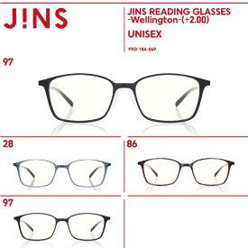 【JINS READING GLASSES -Wellington-】(+2.00)老眼鏡 リーディンググラス-JINS(ジンズ)