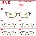 【JINS SCREEN 40%CUT】-JINS(ジンズ)ブルーライトカット メガネ 度なし PC用 レディース おしゃれ PC眼鏡 メンズ …