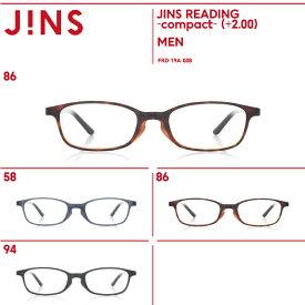 【JINS READING -compact-】(+2.00) 老眼鏡 リーディンググラス-JINS(ジンズ)
