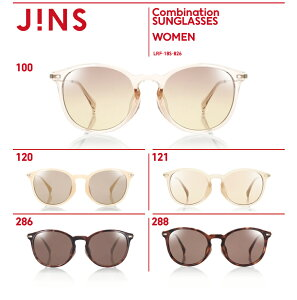 【Combination SUNGLASSES】-JINS(ジンズ)メガネ 眼鏡 めがね