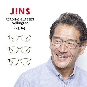 【JINS READING GLASSES -Wellington-】(+1.50)老眼鏡 リーディンググラス-JINS(ジンズ)