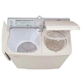 (標準設置料込)PA-T45K5-CP 日立 4.5kg 2槽式洗濯機(パインベージュ) HITACHI 青空 すすぎまで自動 [PAT45K5CP]