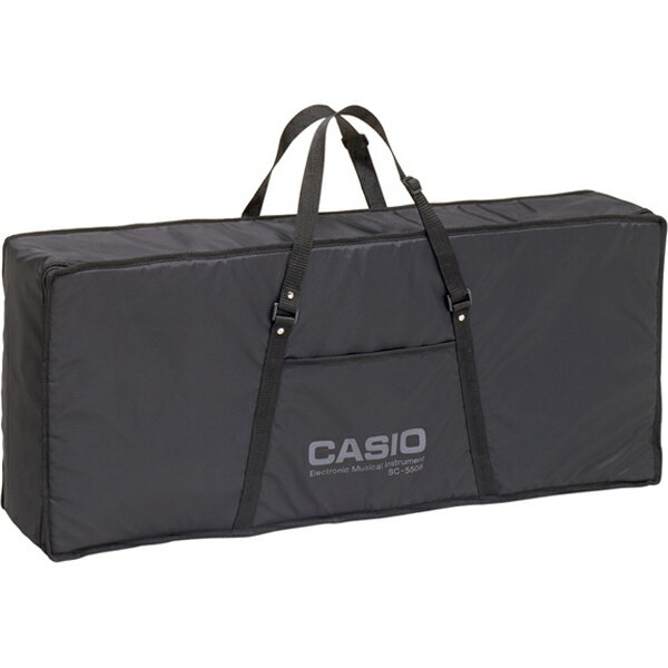 SC-550B カシオ キーボード用ソフトケース CASIO [SC550B]【返品種別A】