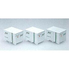 [鉄道模型]トミックス 【再生産】(Nゲージ) 3116 私有UR18A形5t積冷蔵コンテナ 日本石油運送 (3個入)