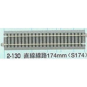 [鉄道模型]カトー KATO (HO) 2-130 HOユニトラック 直線線路174mm(4本入) [K2-130HO S174]【返品種別B】