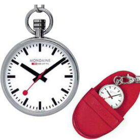 "A6603031611SBB モンディーン Mondaine""Official Swiss Railways Pocket Watch"" A660.30316.11SBB【返品種別B】"