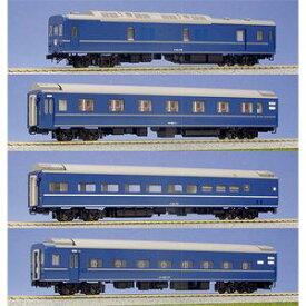 [鉄道模型]カトー 【再生産】(HO) 3-510 24系25形寝台客車 4両基本セット
