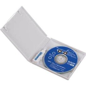 CK-DVD9 エレコム DVDレンズクリーナー(湿式)