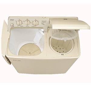 (標準設置料込)PS-H45L-CP 日立 4.5kg 2槽式洗濯機 パインベージュ HITACHI 青空