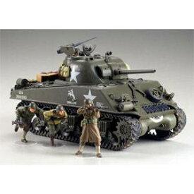 1/35 アメリカ M4A3 シャーマン 75mm砲搭載・後期型(前線突破) 【35250】 タミヤ