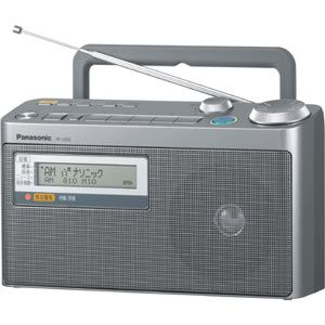 RF-U350-S パナソニック FM緊急警報放送対応FM/AM2バンドラジオ Panasonic [RFU350S]【返品種別A】