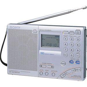 ICF-SW7600GR ソニー ワイドFM/LW/MW/SW PLLシンセサイザーレシーバー SONYワールドバンドレシーバー [ICFSW7600GR]【返品種別A】【送料無料】