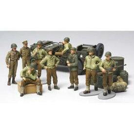 1/48 WWII アメリカ歩兵 前線休息セット【32552】 タミヤ