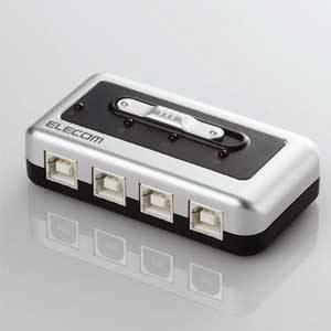 U2SW-T4 エレコム USB2.0/1.1準拠USB切替器(4回路)