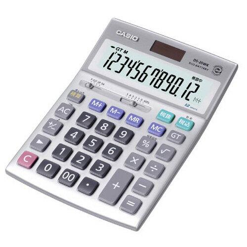 DS-20WK カシオ 卓上電卓 12桁