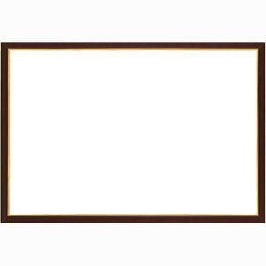 ウッディパネル エクセレント ゴールドライン ブラウン【5-B】(サイズ:38.0cm×53.0cm) エポック社