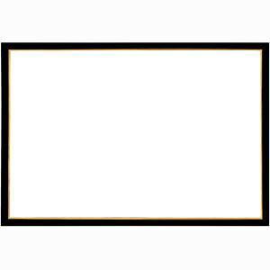 ウッディーパネル エクセレント ゴールドライン シャインブラック【1-ボ】(サイズ:18.2cm×25.7cm【B5】) エポック社