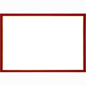 ウッディーパネル エクセレント ゴールドライン シャインレッド【3】(サイズ:26.0cm×38.0cm) エポック社