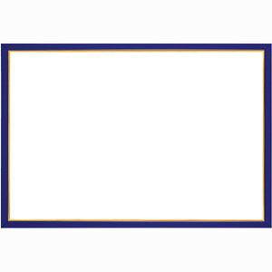 ウッディパネル エクセレント ゴールドライン シャインブルー【3】(サイズ:26.0cm×38.0cm) エポック社