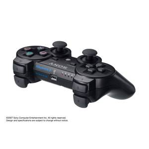 【PS3】ワイヤレスコントローラ DUALSHOCK 3(ブラック) ソニー・コンピュータエンタテインメント [CECH-ZC2J PS3デュアルショックブラック]【返品種別B】