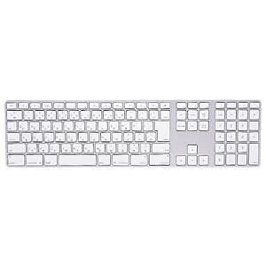 FA-TMAC1 サンワサプライ キーボード防塵カバー Apple iMac用