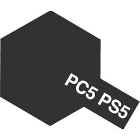 ポリカーボネートスプレー PS-5 ブラック タミヤ