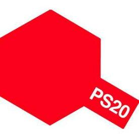 ポリカーボネートスプレー PS-20 蛍光レッド タミヤ