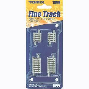 [鉄道模型]トミックス TOMIX (Nゲージ) 1099 ファイントラック 端数レールS18.5 S33 各2本入 [TOMIX 1099]【返品種別B】