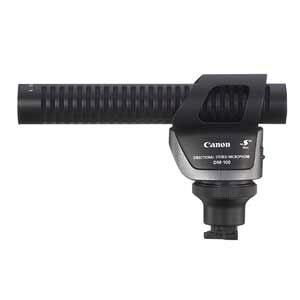 DM-100 キヤノン 指向性ステレオマイクロホン「DM-100」 Canon
