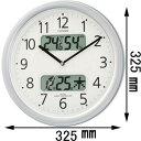 4FYA01-019【税込】 シチズン 電波掛時計 ネムリーナカレンダーM01-19 [4FYA01019]【返品種別A】【送料無料】【RCP】