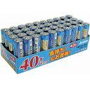 LR6(JS)40PTR マクセル アルカリ乾電池単3形 40本パック maxell