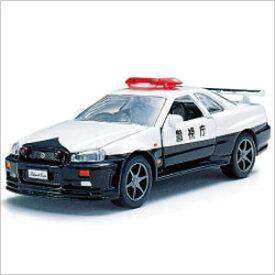 ダイヤペット DK-3101 高速パトカー日産スカイラインGT-R(R-34) アガツマ