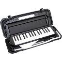 P3001-32K/BK【税込】 KC 鍵盤ハーモニカ メロディーピアノ(ブラック)【ドレミファソラシール付き】 Kyoritsu Corporation [P...