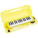 P3001-32K/YW【税込】 KC 鍵盤ハーモニカ メロディーピアノ(イエロー)【ドレミファソラシール付き】 Kyoritsu Corporation [P...