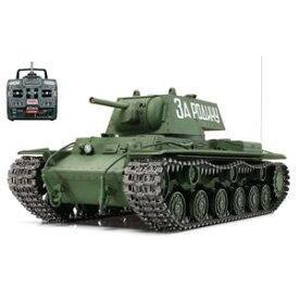 1/16 電動RCタンク組立セット RCT KV-1 重戦車 フルオペレーション(プロポセット)【56027】 ラジコン タミヤ
