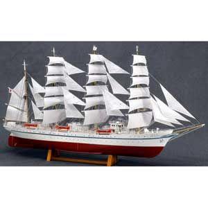 1/160 木製帆船模型 新日本丸(帆付) ウッディジョー [UD 1/160ニホンマル]【返品種別B】