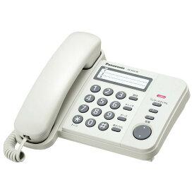 VE-F04-W パナソニック 電話機 ホワイト Panasonic Simple Telephone [VEF04W]