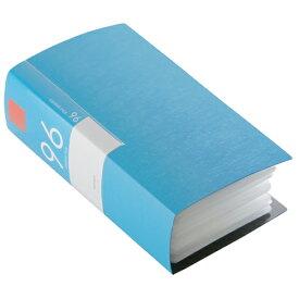 BSCD01F96BL バッファロー CD/DVDファイル 96枚収納(ブルー) ブックタイプ 96枚収納