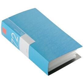 BSCD01F72BL バッファロー CD/DVDファイル 72枚収納(ブルー) ブックタイプ 72枚収納