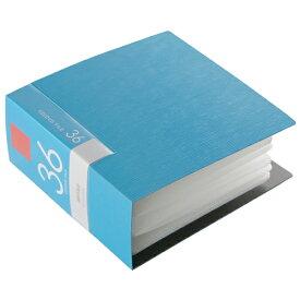 BSCD01F36BL バッファロー CD/DVDファイル 36枚収納(ブルー) ブックタイプ 36枚収納