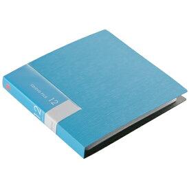 BSCD01F12BL バッファロー CD/DVDファイル 12枚収納(ブルー) ブックタイプ 12枚収納