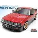 【再生産】1/10 RCカー用ボディ 01 スーパーボディシリーズ 日産 スカイライン R30(前期型) 【66098】 ABCホビー