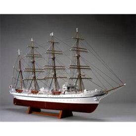 1/160 木製帆船模型 日本丸(帆なし(停泊)) ウッディジョー