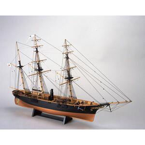 1/75 木製帆船模型 咸臨丸 木製組立キット ウッディジョー