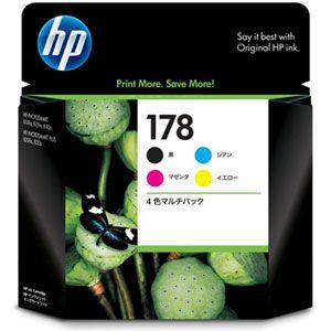 CR281AA ヒューレット・パッカード HP178 インクカートリッジ 4色マルチパック HP178 [CR281AA]【返品種別A】